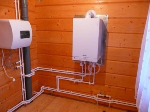Газовый котел для водяного теплого пола