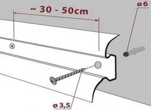 как уложить плинтус на линолеум