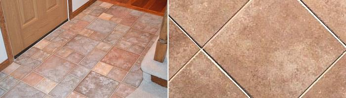 Керамическая плитка и керамогранит для прихожей