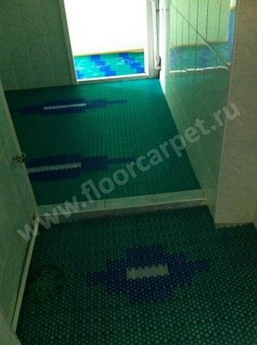 покрытие для влажных помещений детского сада г.Москвы