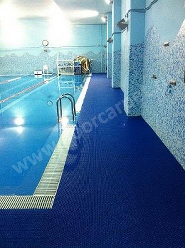 Дорожка вокруг бассейна фитнес-центра г.Москва