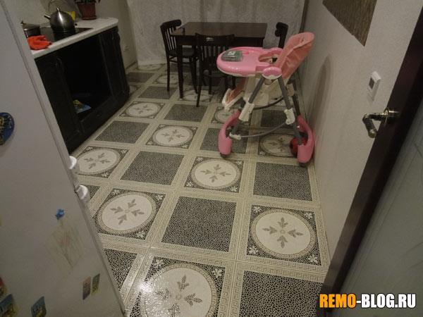 Кухня полы