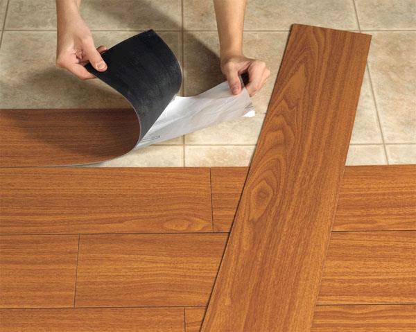 Полоска виниловой плитки